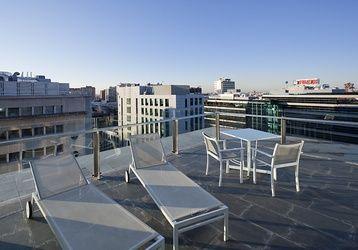 Te garantizamos el mejor #descanso en #Madrid, junto a las mejores vistas.  http://www.ilunionatrium.com/