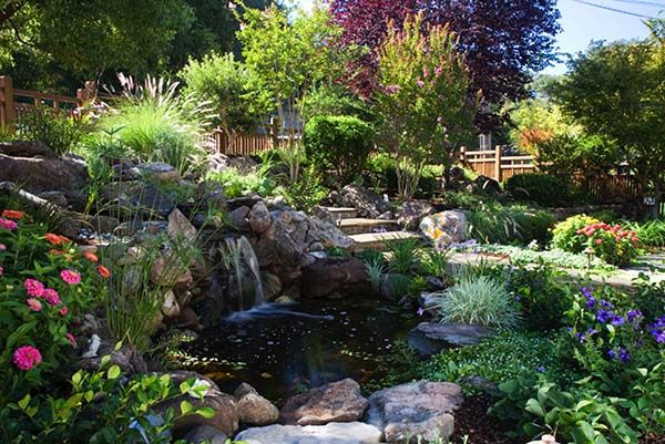 17 best images about backyard ponds on pinterest for Tranquil garden designs