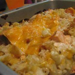 Macaroni, Salmon and Alfredo sauce on Pinterest