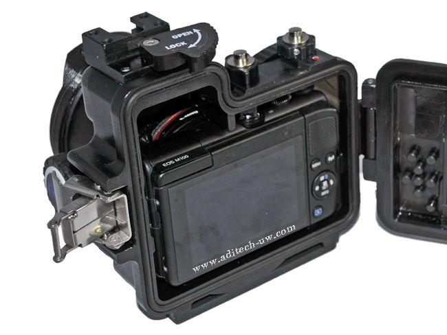 Giosim Gio Cm100 Canon Eos M100 Buy Dive Aditech Photography Tools Canon Eos Underwater Video
