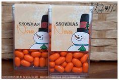 Narices de muñeco de nieve Tic Tac – Imprimible – Paquete de fiesta – Muñecos de nieve – Feria de artesanía – Favores – Cita – Favores de fiesta – Invierno – Dulces – Tic Tacs – Etiqueta