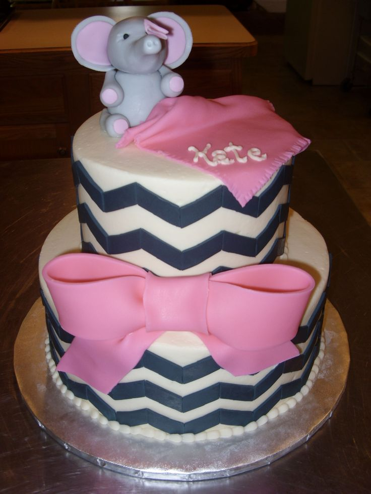 51 best images about elephant baby shower - pink on pinterest, Baby shower invitations