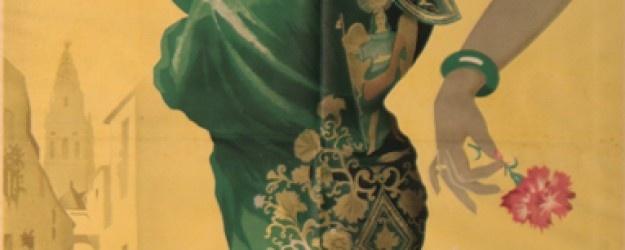 Carteles con Historia. Cordoba Feria de Mayo. Rafael Anaya. 1956 #bodas #finca #madrid #eventos