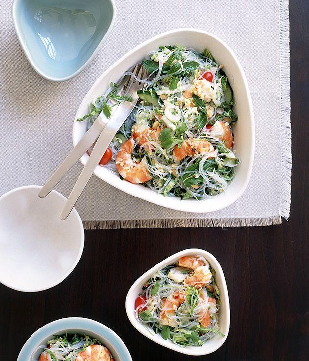 Little Thai prawn and glass noodle salad Super green houmous ! {pour 1 bocal} 175 g de pois chiches crus (secs !) 175 g de tahin (purée de sésame) 1/2 jus de citron 50 ml de jus de cuisson environ 25 ml d'huile d'olive 1 cac rase de sel 1 cac rase de cumin en poudre 1 à 2 gousses d'ail 1 cac rase de spiruline en poudre (de bonne qualité : marque Solsemilla ou Flamand vert par exemple) 1 petit bouquet de coriandre ou de persil frais (facultatif : 1 morceau d'algue kombu ou 1 pincée de…