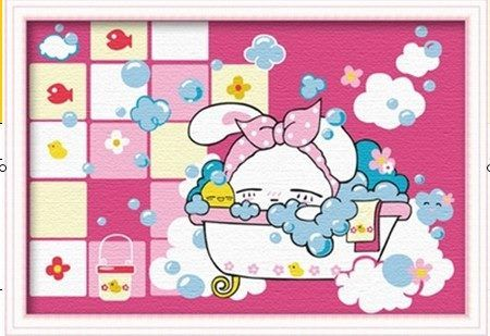 BA 000 – Bathroom Pink Cartoon Rp 123.000,- Canvas size: Ukuran 20 x 30 Packaging size: 21 x 31 x 3.5 cm (setara dengan 1 kg)  ALICE painting kit sudah termasuk - Kanvas pattern lukisan yg dibuat dari high grade cotton dengan tekstur halus. - Cat pigment warna yg ramah lingkungan, tidak beracun dan tidak cepat pudar. - Beberapa kuas nylon. - Kertas manual kode warna  Contact: Email: jjbigstore@yahoo.com Instagram & Twitter: @Silvblue Shop Line: silvblue SMS: 0818 0832 9022 WhatsApp…