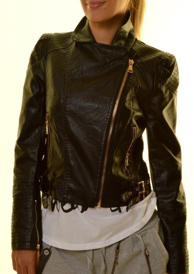 Γυναικείο μπουφάν δερματίνη 37,50€ https://www.rouhomania.gr/gynaikeia/mpoyfan/gynaikeio-jacket_cp3962