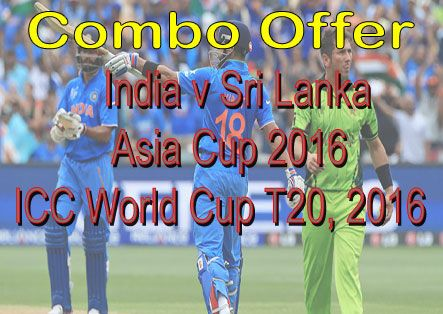 Hurry Get Offer For #IndVsSriLanka , #AsiaCup2016, #T20WorldCup A Combo Pack For Live Cricket Streaming On HD at http://cricketonlinehd.com/