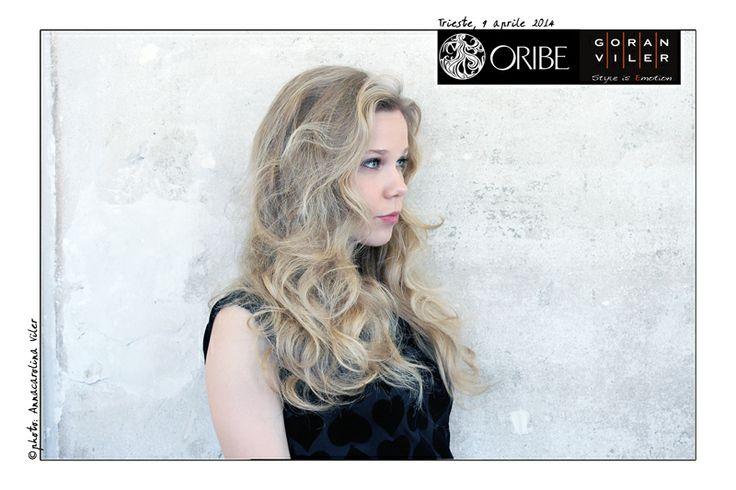Ronnie Stam, hairstylist delle dive e art director di Oribe Hair Care, ha tenuto un esclusivo workshop presso la Goran Viler Hair SPA di Trieste: ecco le foto delle nostre bellissime modelle! #hair #model #oribe #goranviler #blonde