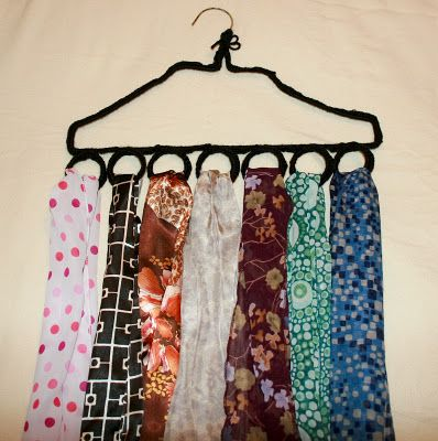 Scarf Organizer  Scarf  Fashion  Pinterest Fashion Scarf Racks