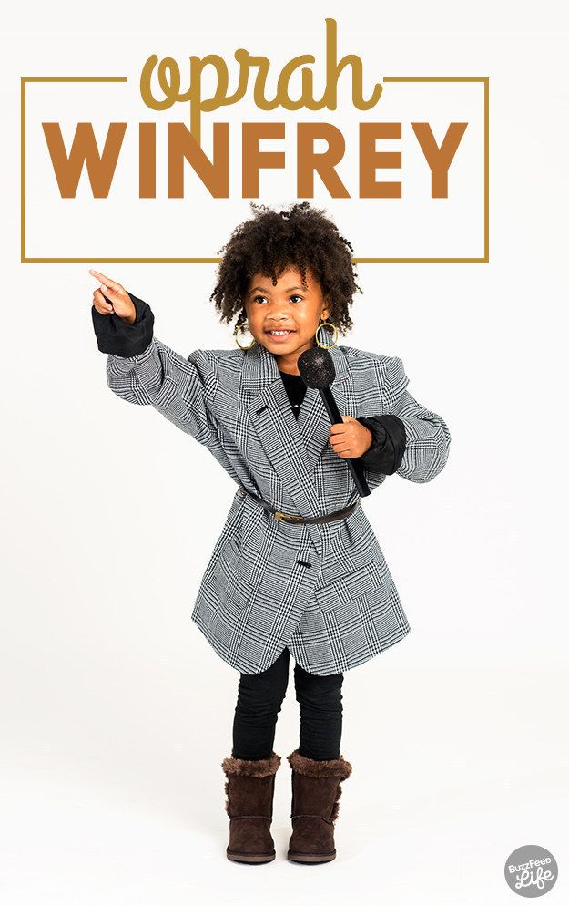 19 feminist costume ideas for badass little girls girl powerkids fashionlittle girlshalloween costumesoprah winfreycostume - Oprah Winfrey Halloween Costume