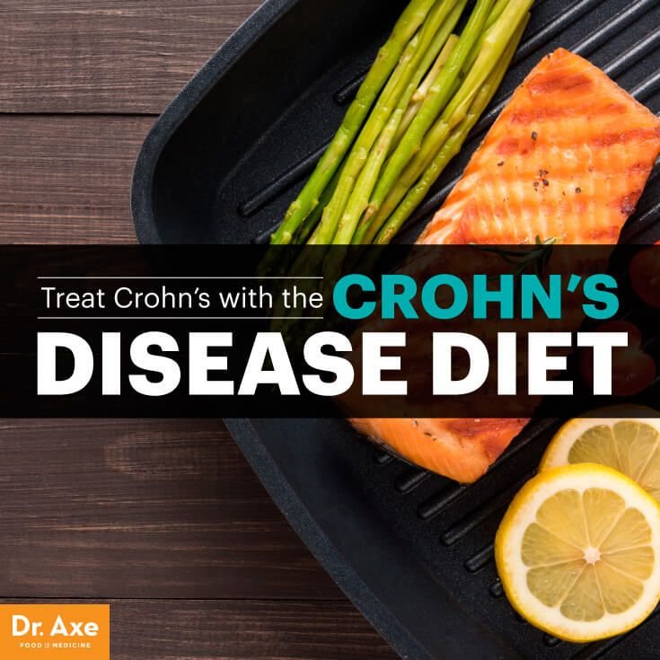 Crohn's disease diet - Dr. Axe http://www.draxe.com #health #holistic #natural