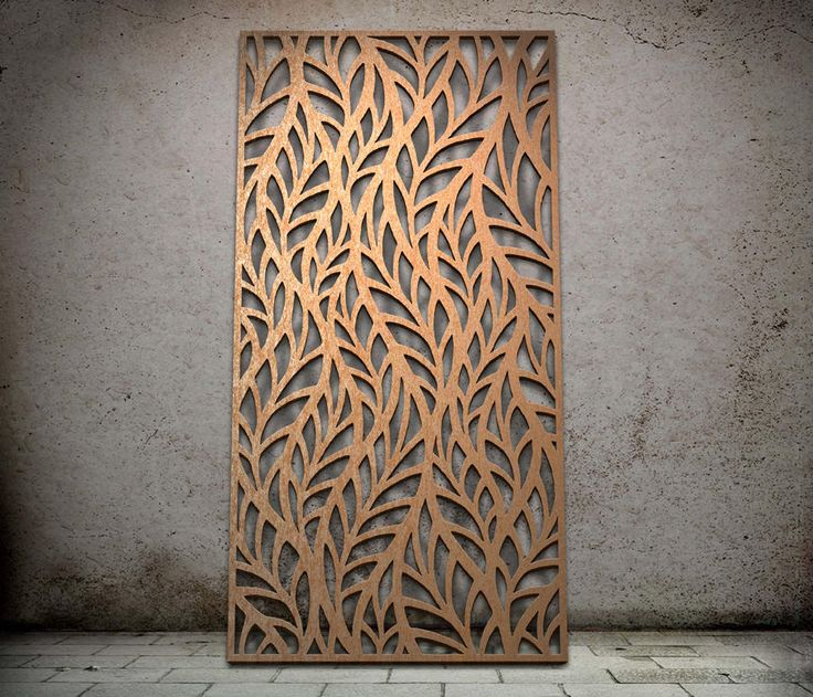 Botanical Miles And Lincoln Laser Cut Screens Laser