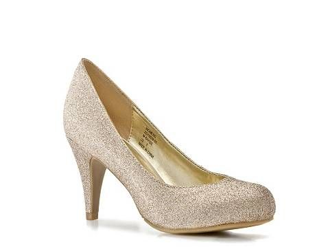 Mix No. 6 Barbie Glitter Pump.  DSW.  Who wouldn't want to rock a glittery shoe with a pair of jeans?: 39 95, Pumps Heels, Style, Wedding Shoes, Wedding Ideas, Barbie Glitter, Glitter Pumps, Glitter Heels