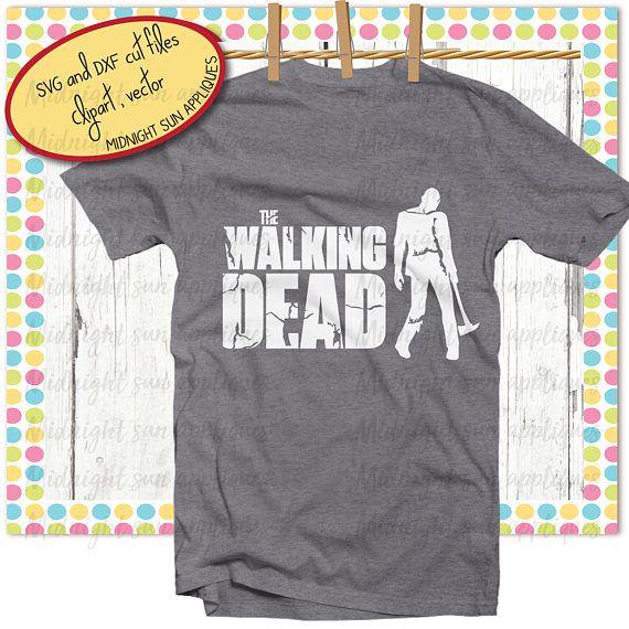 Walking dead svgdxfclipartwalking dead cut filewalking