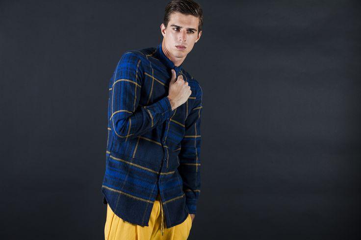 Flannel Shirt Pant mod. JEFFERSON