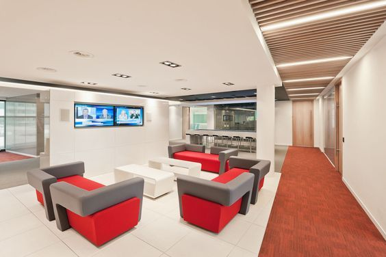 Multiple by Modula rLighting Instruments at McAfee International office in Amsterdam #supermodular