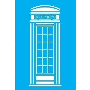 Stencil-para-Pintura-30x20-Telephone-Londres-LSS-015---Litocart
