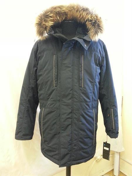 Куртка мужская зимняя деление