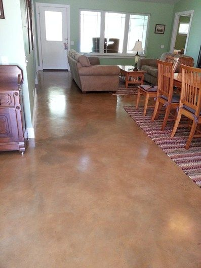 Concrete floors floors and concrete finishes on pinterest for Concrete floor finishes