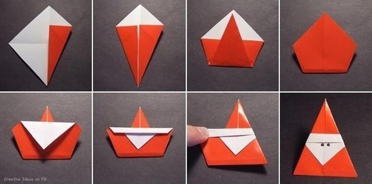origami päkapikk