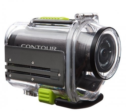 Mini kamera HD Contour+2 + Etui Rozmiar M + Karta pamięci Micro SD HC 8 GB