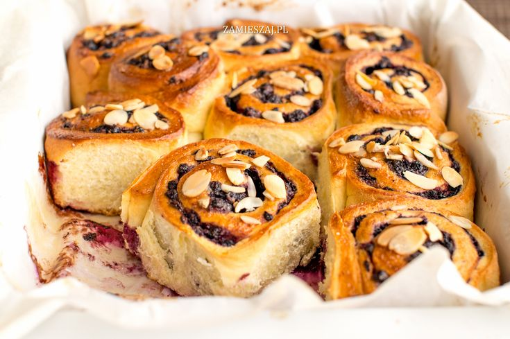 Bluberry rolls