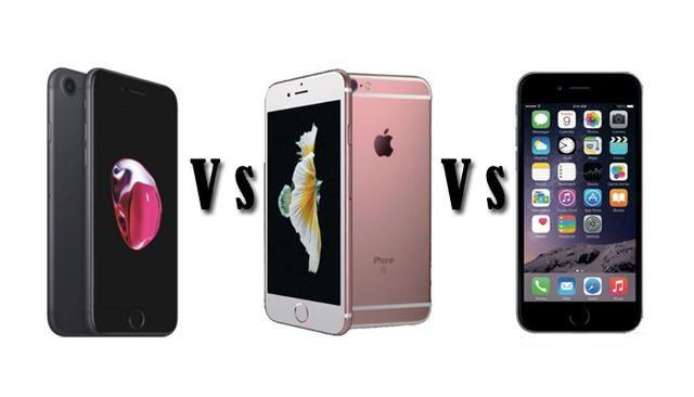 iPhone 7 vs. iPhone 6S vs. iPhone 6 [SPECS COMPARISON]