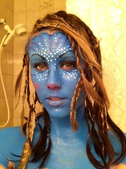 17 best images about avatar makeup on pinterest makeup. Black Bedroom Furniture Sets. Home Design Ideas