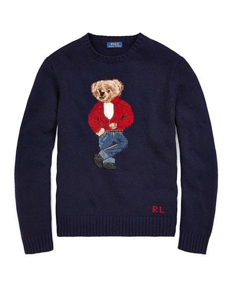 Mr. Cool | Polo Bear Wool Sweater