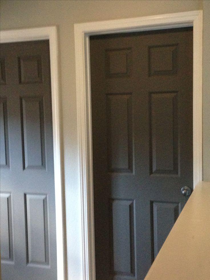 behr dolphin fin on the walls behr dark granite on the doors color for kids bathroom vanity