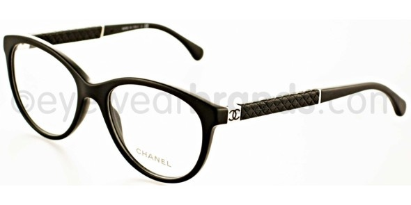 Black Chanel Eyeglass Frames : Chanel CH 3229-Q c555 MATTE BLACK New In : View the Latest ...