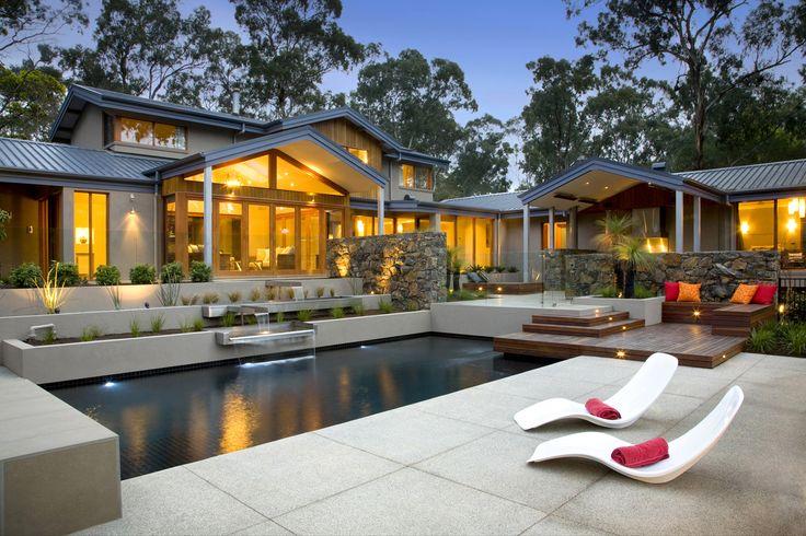 Eltham residence in Australia by TLC Pools & Landscapes