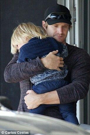 Shane watson & his cute son