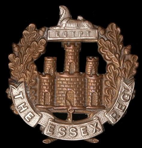 Essex regiment military badge