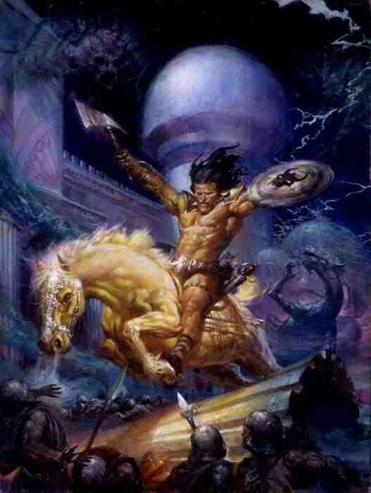 Conan the Barbarian cover art by Doug Beekman | Book Cover ...