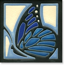 Butterfly by Motawi Tile