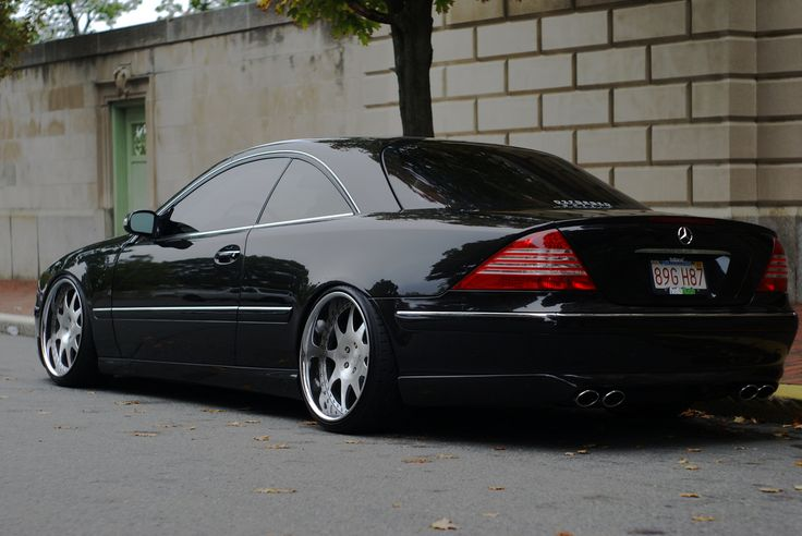 Mercedes-Benz 2005 CL500 | Discussion: Stanced Mercedes Benz CL500 W215. Cold rims