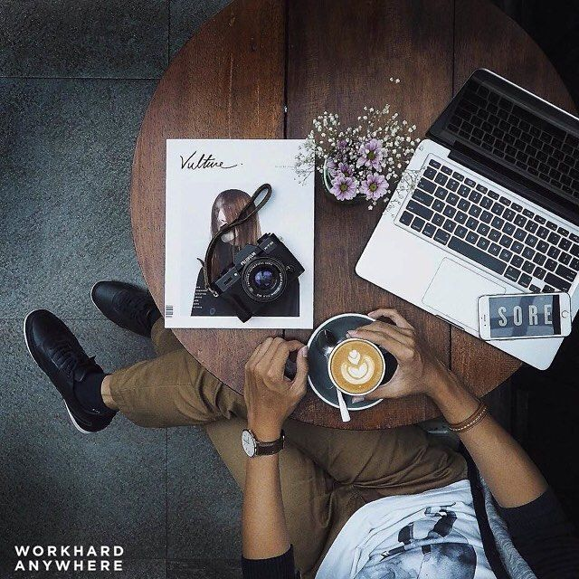 Surabaya Indonesia (Caturra Espresso @caturraespresso)   by Wilson (@wilsonharries)   Use our app to find the best cafes and spaces to work from. -- Wilson is enjoying a cup of coffee at Caturra Espresso in Surabaya Indonesia -- #workhardanywhere