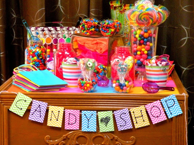 Dancin' With A Dolly: Creating A Candy Shop Birthday