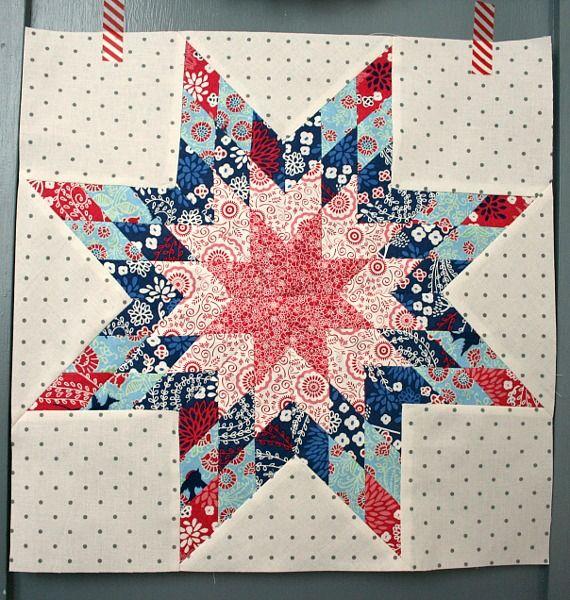 Tutoriales De Patchwork Patchwork Star Quilt Blocks