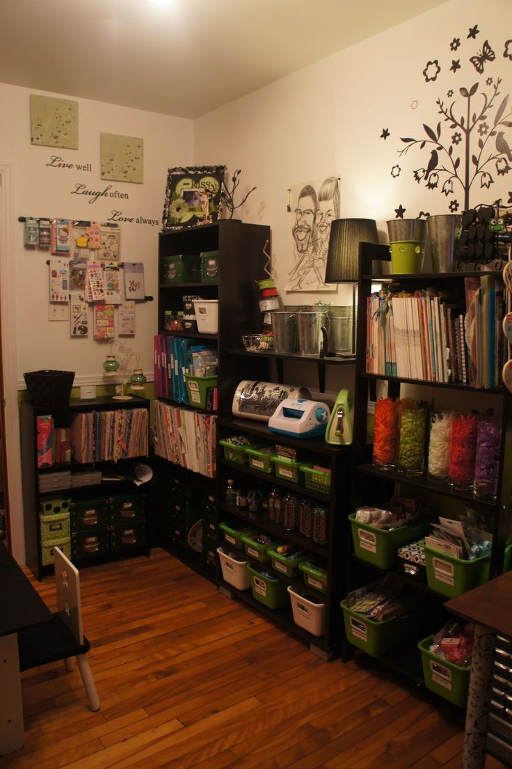 My Daughters Box Room Right Side: 17 Best Ideas About Scrapbook Rooms On Pinterest