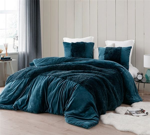 Coma Inducer Oversized Comforter Are You Kidding Nightfall Navy Comforters Duvet Bed