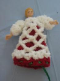 Strawberry Girl Inside-Out Doll Free Crochet Pattern