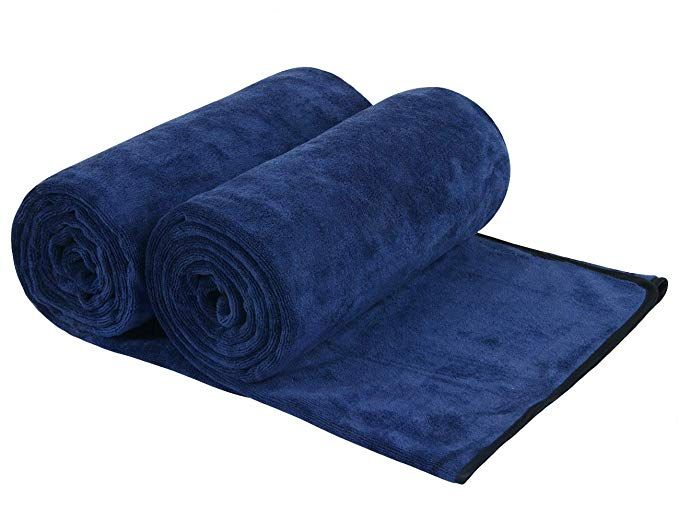 Sunland Microfiber Bath Towels For Boby Bath Towel Extra Large 2