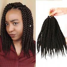 12″ Crochet Senegalese Twist Hair Kanekalon Brown Synthetic Crochet Braids Hair …