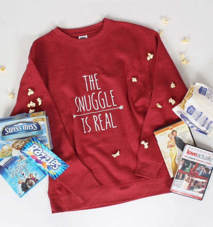 The Snuggle Is Real Comfort Colors Sweatshirt | Lakeside Cotton  http://lakesidecotton.marleylilly.com/product/the-snuggle-is-real-comfort-colors-sweatshirt/