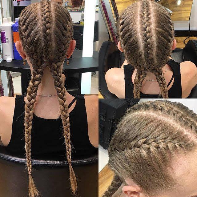 3 Into 2 French Braids Allure Hair French Braid French Braid Styles
