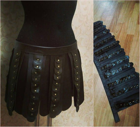 Xenas skirt according to your measurements! Make a hand made of leather. You can make another coloring