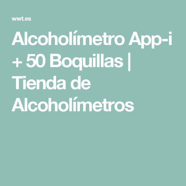 Alcoholímetro App-i + 50 Boquillas | Tienda de Alcoholímetros