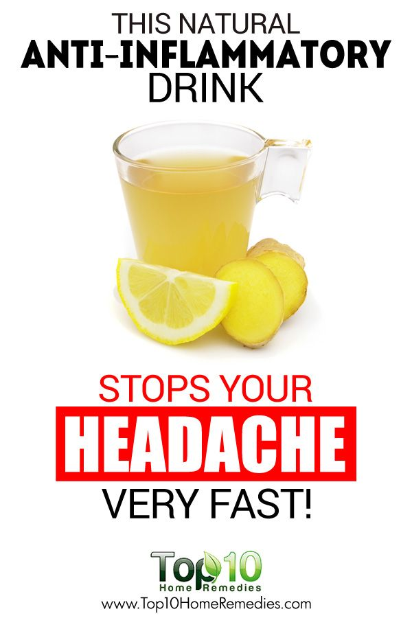 This Natural Anti-inflammatory Drink Stops Your Headache Very Fast!